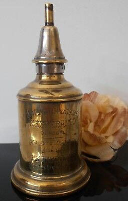 Antique Paris F. Besnard safety Oil Lamp Lampe Brass Lantern Collectable item