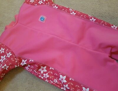 Splash About Blossom Warm in One Fleece Lined Large Wetsuit (6 to 12 months)