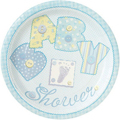Set Of 12 Blue Baby Shower 14X8 Size Cake Bags
