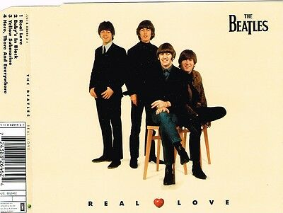 The Beatles Real Love CD single - Used, Very Good Cond. RARE Australian Pressing
