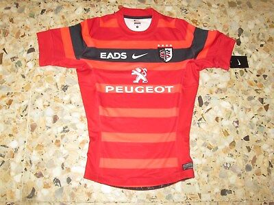 maillot shirt jersey ancien rugby STADE TOULOUSAIN TOULOUSE 2012-2013 NIKE NEUF