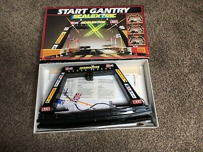 Scalextric Overhead Start Gantry C209 - Working Tested