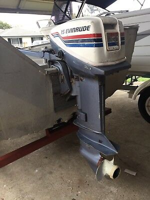 15Hp Outboard Motor, No Reserve