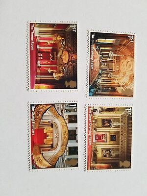 GB Stamps  sg 3597-3600. Buckingham Palace. 2nd.issue. MNH