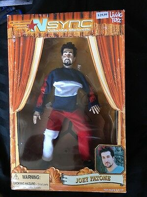 *NSYNC Joey Fatone Marionette Doll From 2000