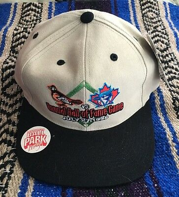 HOF Baseball Cooperstown NY  Blue Jays Baltimore Orioles Hat New Vintage 1999