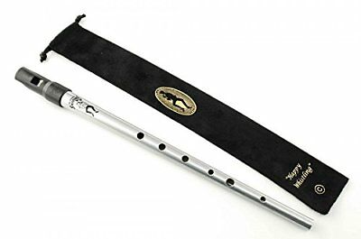 Clarke Sweetone Tinwhistle - Key of 'C' with Cloth Pouch Silver
