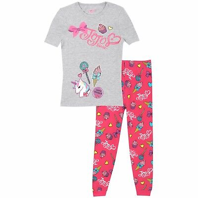 JoJo Siwa Pyjamas | Girls Jojo Siwa Short Sleeve Pyjama Set | Kids JoJo Siwa PJs