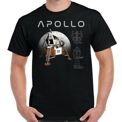 Nasa Apollo Lunar Module and Lander Design T-Shirt