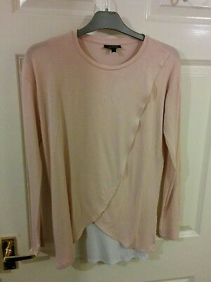 TOPSHOP size 8 maternity top