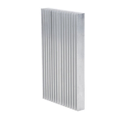 Silver Tone Aluminum Cooler Radiator Heat Sink LED Heatsink 100x60x10mm