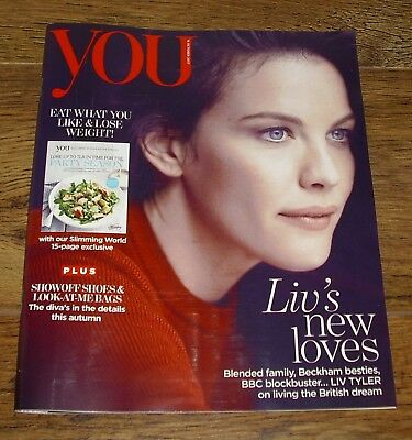 You Magazine Liv Tyler Cover & Interview October 15 2017