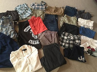 Men's Bulk Mixed 20 Items Billabong, Jeep, Westco, Urb Supply, Sons Of Anarchy