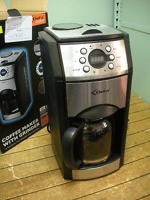 Delta Kitchen Coffee Maker with Grinder 58060 Machine