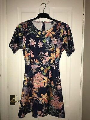 Stunning limited edition Hot Mama Nursing dress With Zips For Feeding Size 14