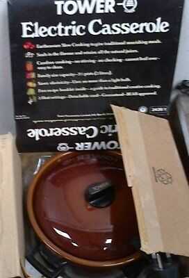 Tower slow cooker, in original box and packing
