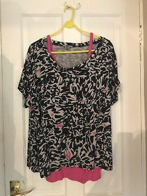 Mamas And papas Nursing Top size 14