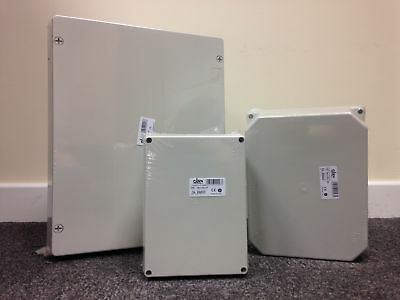 High Quality Olan Thermo Plastic Electrical Enclosure 120x80x50mm IP56 Rated