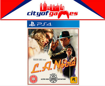 L.A. Noire LA Noire PS4 Game New & Sealed 24 Hour Special Offer Ends 12am