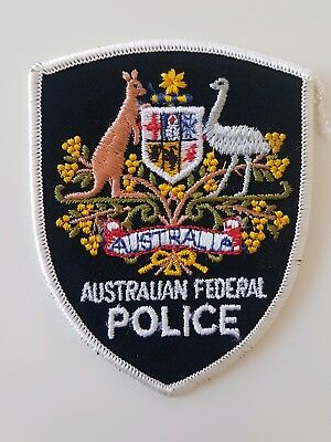 Australian Federal Police patch - Obsolete AFP