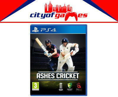 Ashes Cricket PS4 Game New & Sealed Free Express Post In Stock