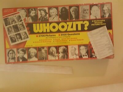 "Vintage ""WHOOZIT?"" Game by Game Systems - 1985 Edition - 100% Complete!"
