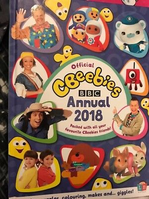 CBeebies 2018 Official Annual BBC Hardback by Littlebrotherbooks New