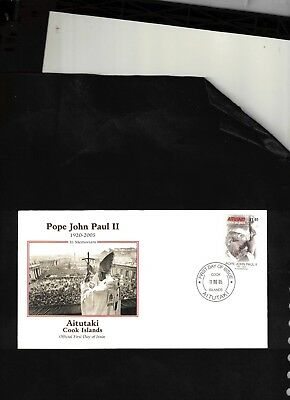 2005 FDC Pope John Paul II In Memoriam