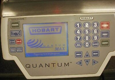 Hobart Quantum Max Gocery Deli Meat Scale & Printer 28879BJ-1
