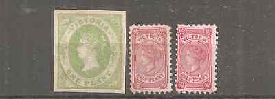 Victoria 3 Scans Mixed Major Fine Condition 3 Unused. Unknown From Seller