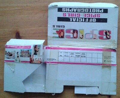 Official Spice Girls Photographs empty box