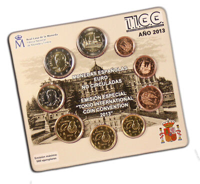 CARTERA OFICIAL - ESPAÑA 2013 - Tokyo International Coin Convention