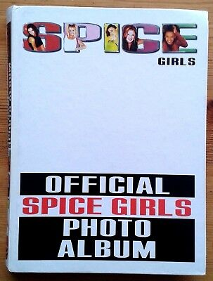 Official Spice Girls Photo Album complete with all 120 photographs