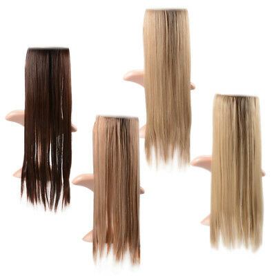 Hair Extensions Hidden Invisible Wire Secret Headband Miracle Straight Hair