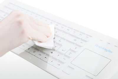 Preh KeyTec HospiTouch Glass Surface Medical Keyboard