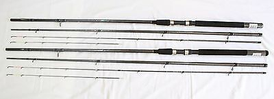 Pair Of X Wrap Graphite Feeder Rods 11.5Ft Stunning Great Action Ex Display Mint
