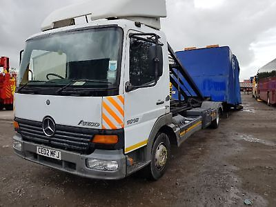 Mercedes 1018 Recovery Vehicle Covered Transporter