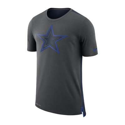 Nike NFL Dallas Cowboys Reise Netzgewebe Dri - Fit T-Shirt