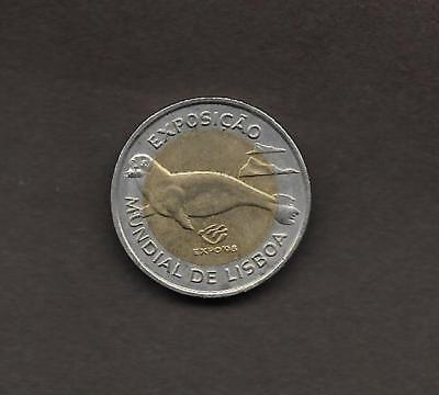 PORTUGAL  100  ESCUDOS 1997 ,  Lisbon World Expo '98  UNC  S/C