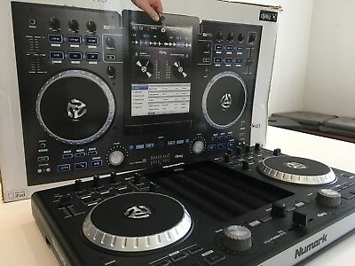 Numark iDJ Pro DJ Controller Mixing Decks for iPad.