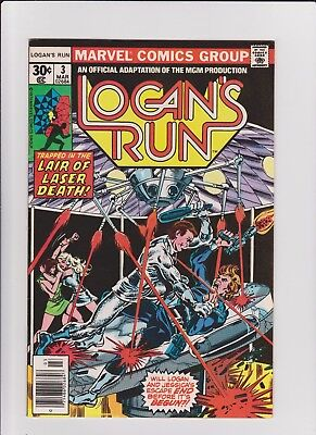 Logan's Run 3  VF    cents issue