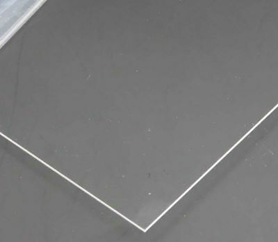 1mm A5 transparent Perspex acrylic sheet Plastic Plexiglass Cut 15cm x 21cm lot