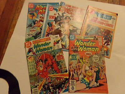 Wonder Woman comics lot