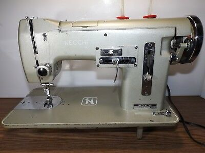 NECCHI Industrial Strength HEAVY DUTY Sewing Machine LEATHER SAILCLOTH SUNBRELLA