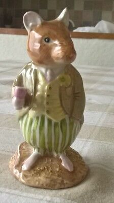 ROYAL DOULTON Brambly Hedge CONKER 1st Quality DBH21 1988 Rare figure