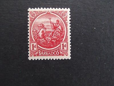 Barbados - George V 1921 One Penny Mounted Mint