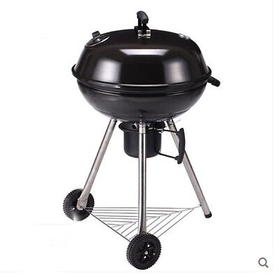 Height 1M Apple Creative Household Outdoor Stainless Steel Portable Grill BBQ *