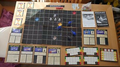Games Workshop - Space Fleet classic boxed game. Includes Cobra attack squadron