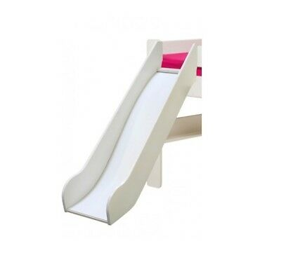 Steens For Kids Slide (For EU Midsleeper) in White MDF (PARTS) **CLEARANCE**