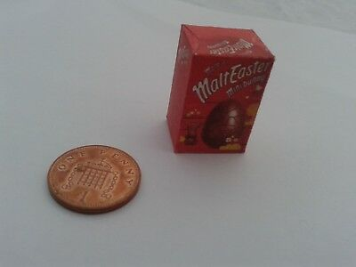 1/12 Scale - Easter Egg Malteaster for Dollshouse miniature sweet shops